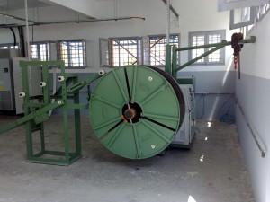 Traversing Spool